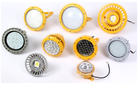Round led explosion-proof lights